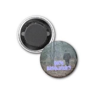 Fridge Magnet Message Fun Trackin Gone Sasquatch'n