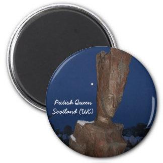 Fridge magnet - Pictish Queen