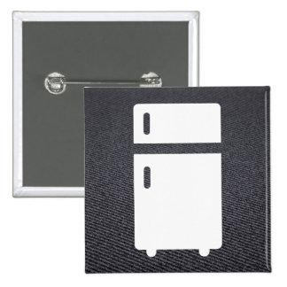 Fridge Refs Graphic 2 Inch Square Button