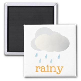 Fridge Weather - RAINY Magnet
