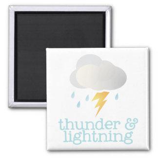 Fridge Weather - THUNDER Refrigerator Magnets