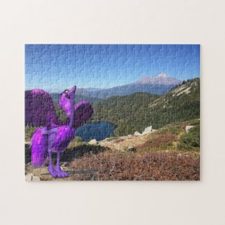Frieburd at Mt. Shasta Puzzle 252 pieces