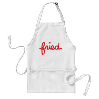 Fried Adult Apron