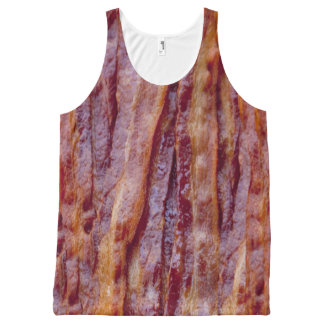 Fried bacon All-Over-Print tank top