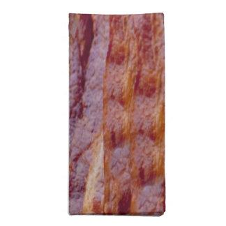 Fried bacon napkin
