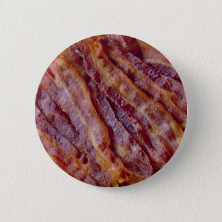 Fried bacon pinback button