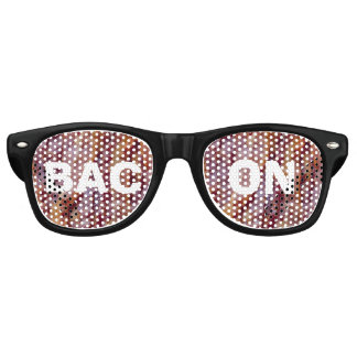 Fried bacon retro sunglasses