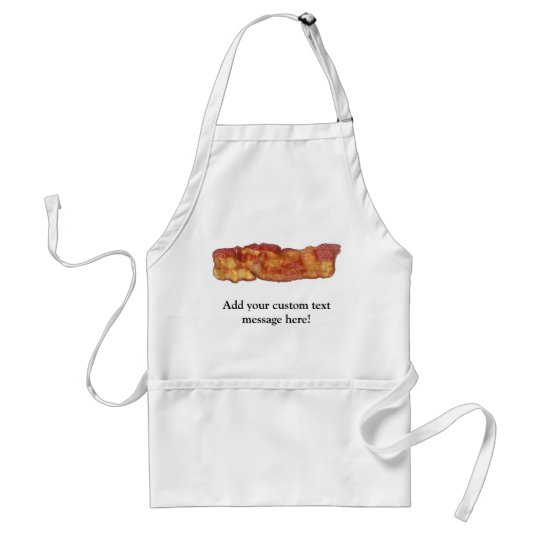 Fried Bacon Strip Adult Apron