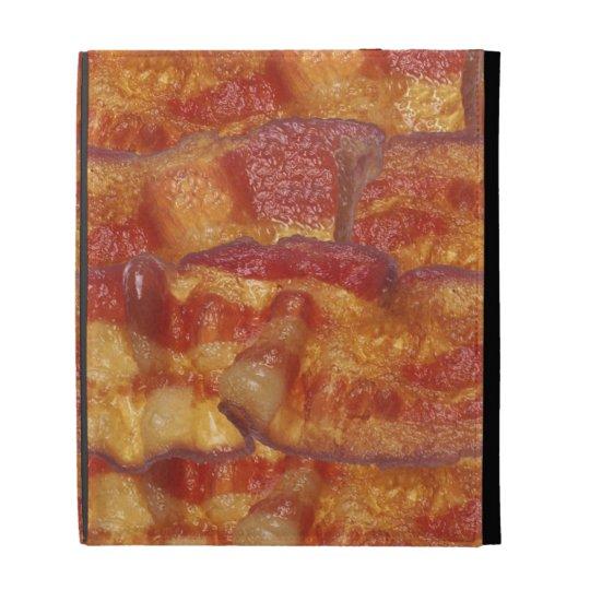 Fried Bacon Strip iPad Folio Cover