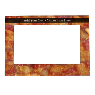 Fried Bacon Strip Magnetic Frame