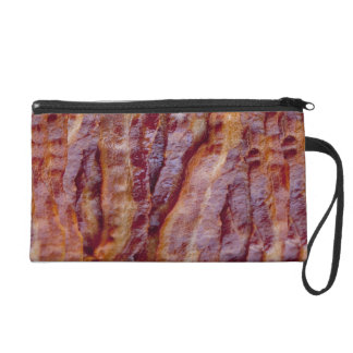Fried bacon wristlet purse