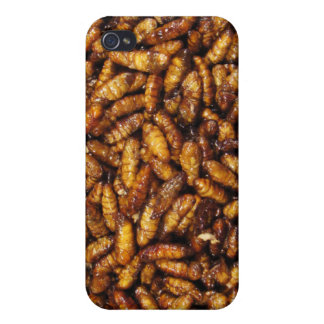 Fried Bamboo Worms ... Thai Street Food iPhone 4/4S Case