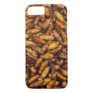 Fried Bamboo Worms ... Thai Street Food iPhone 8/7 Case