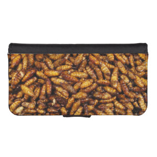 Fried Bamboo Worms ... Thai Street Food iPhone SE/5/5s Wallet Case