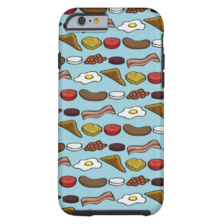 Fried Breakfast Tough iPhone 6 Case
