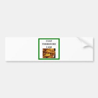 fried chicken bumper sticker