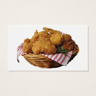 Fried Chicken Business Card