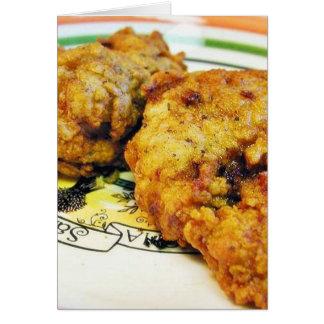 Fried Chicken Card