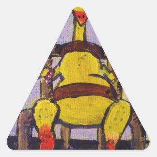 Fried Chicken Triangle Sticker