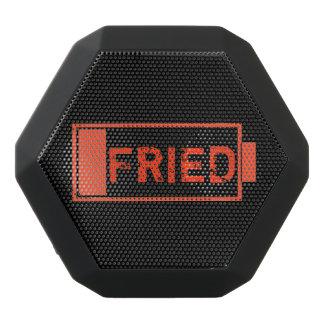 Fried concept. black bluetooth speaker