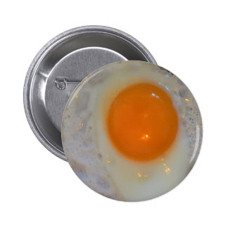 Fried egg 2 inch round button