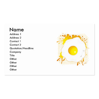 Fried_Egg Business Card