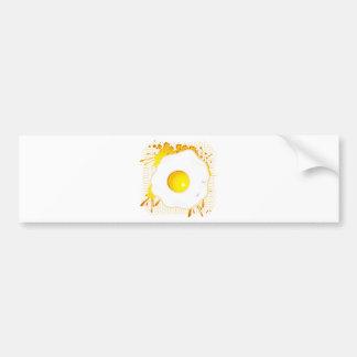 Fried_Egg Car Bumper Sticker