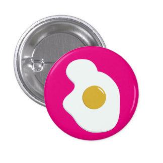Fried EGG companion badge Pinback Button
