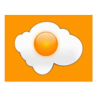 Fried Egg Postcard