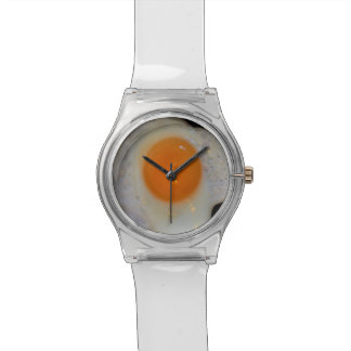 Fried Egg Sunny Side Up Novelty Food Watches