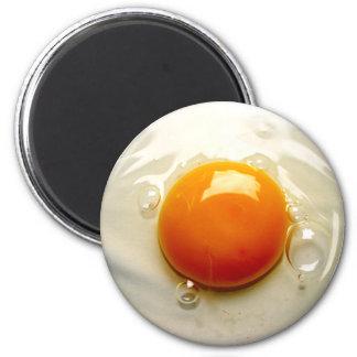 Fried Egg Sunny side up Photo Fridge Magnet