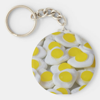 Fried egg sweets keychains