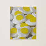 Fried egg sweets puzzle