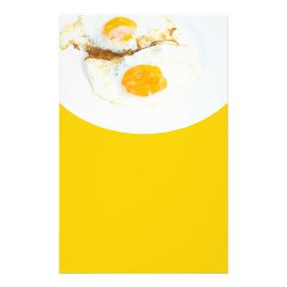 Fried eggs flyer