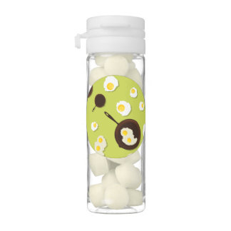 Fried Eggs Fun Food Design Chewing Gum Favors