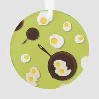 Fried Eggs Fun Food Design Ornament