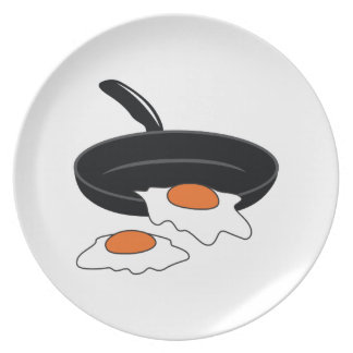 FRIED EGGS PARTY PLATE