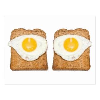 Fried Eggs Postcard