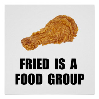 Fried Food Group Poster