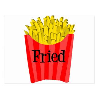 Fried Fries Postcard