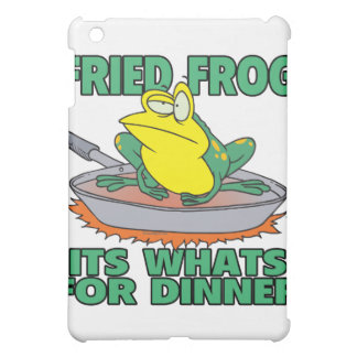 fried frog its whats for dinner iPad mini cases