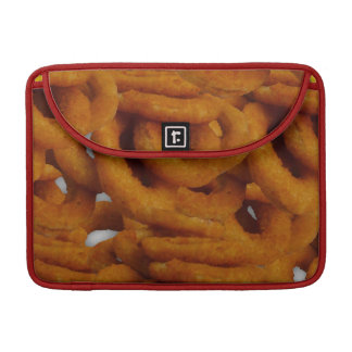 Fried Golden Onion Rings Photography Sleeve For MacBook Pro