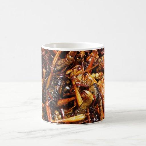 Fried Grasshopper (Takkataen Thot) Coffee Mugs