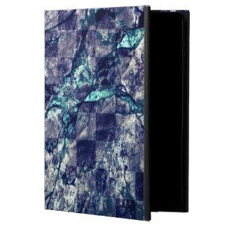 Fried Marble Purple Indigo Teal Blue Geode Slice Powis iPad Air 2 Case
