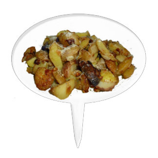fried potatoes and onions with cheese.jpg cake topper