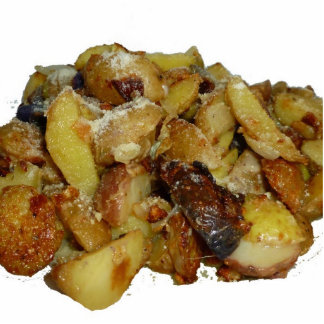 fried potatoes and onions with cheese jpg cut outs