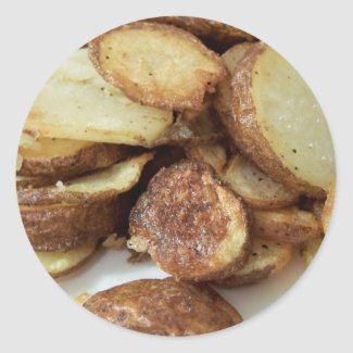 Fried Potatoes sticker