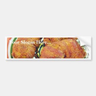 Fried Prawns Food Dinner Cooking Car Bumper Sticker