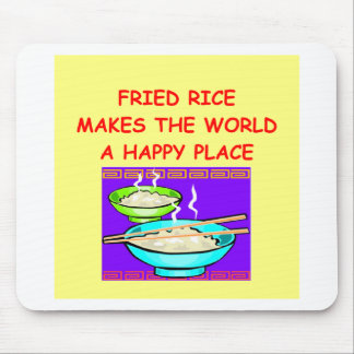 fried rice mouse pad