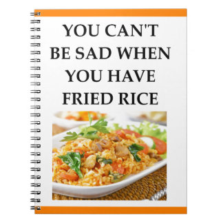 FRIED RICE NOTEBOOK